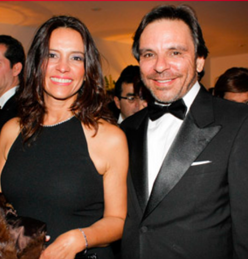 Ministra Nancy Patricia Gutiérrez y su esposo Miguel Rueda en la boda de la hija del exprocuraduro Alejandro Ordóñez.