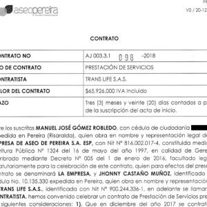kontacto-Contrato AseoPereira