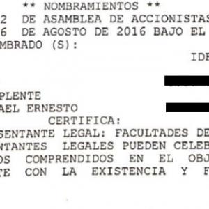 Certificado de Cámara de Comercio - Socios Translife